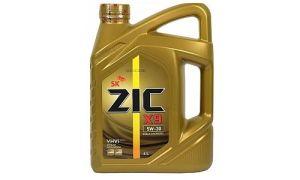Революционная формула масла ZIC X9 5W30