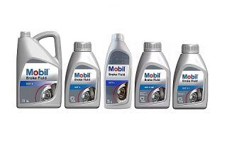 Тормозная жидкость Mobil Brake Fluid DOT 4