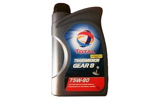 Масло TOTAL TRANSMISSION GEAR 8 75W80
