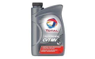Жидкость для АКПП и вариаторов TOTAL FLUIDMATIC CVT MV