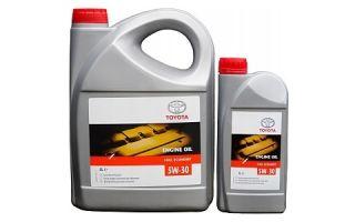 Масло Toyota Engine Oil Fuel Economy 5W30