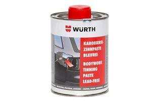 Паста для лужения Wurth