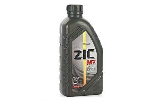 Масло ZIC M7 4T 10W40