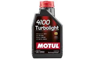 Масло Motul 4100 Turbolight 10W40