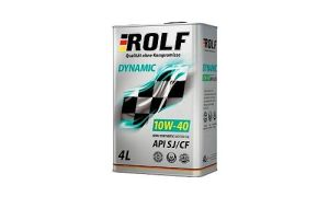 Масло ROLF DYNAMIC 10W40 SJ/CF