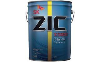 Защитите свой дизельный двигатель: ZIC X5000 15W40