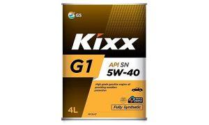 Масло Kixx G1 5W40