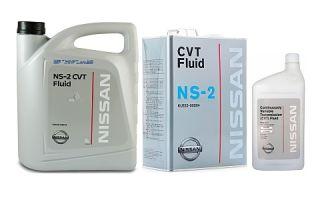 Трансмиссионное масло NISSAN CVT Fluid NS-2