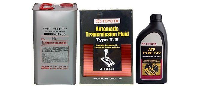 Трансмиссионное масло Toyota ATF Type T-IV