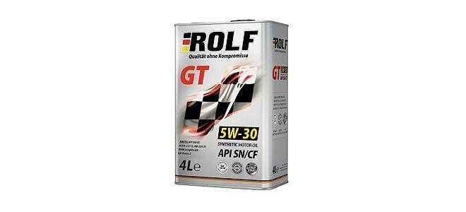 Масло ROLF GT 5W30 SN/CF
