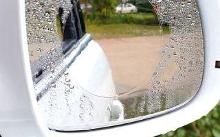 Простые советы, как в плохую погоду ездить с чистыми боковыми зеркалами