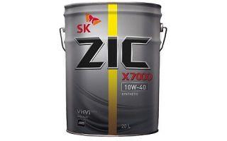 Чистота двигателя надолго: ZIC X7000 AP 10W40