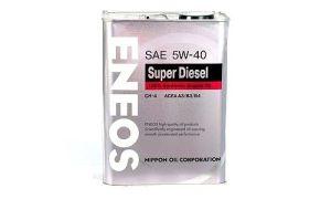 Масло ENEOS SUPER DIESEL 5W40 CH-4
