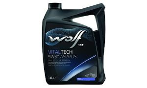 Масло WOLF VITALTECH 5W30 ASIA/US