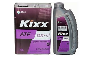 Трансмиссионное масло KIXX ATF DX-III