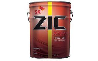 Лучшее масло для тяжелой техники: ZIC X3000 15W40