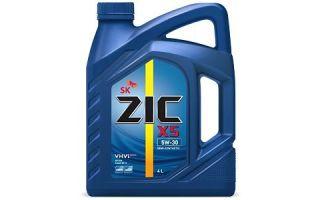 Специальное масло для дизеля: ZIC X5 Diesel 5W30
