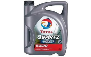 Масло TOTAL QUARTZ INEO ECS 5W30