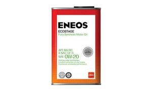 Масло ENEOS ECOSTAGE SN 0W20