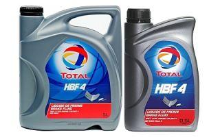 Тормозная жидкость TOTAL HBF 4
