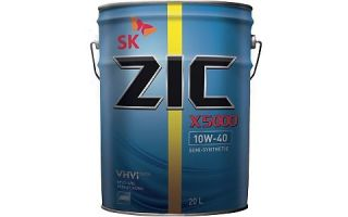 Идеальная полусинтетика для грузовиков: ZIC X5000 10W40