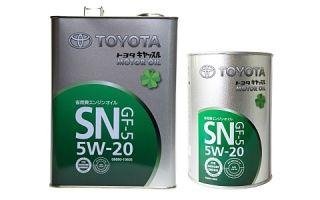 Масло Toyota 5W20