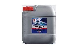 Трансмиссионное масло ЛУКОЙЛ ТМ-5 85W90 API GL-5