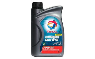 Трансмиссионное масло TOTAL TRANSMISSION DUAL 9 FE 75W90