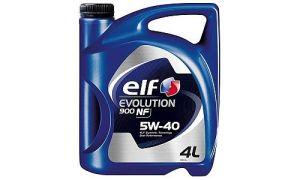 Масло ELF EVOLUTION 900 NF 5W40