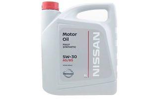 Масло NISSAN MOTOR OIL FS 5W30 A5/B5