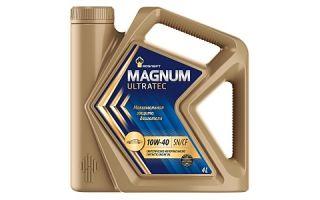 Масло Rosneft Magnum Ultratec 10W-40