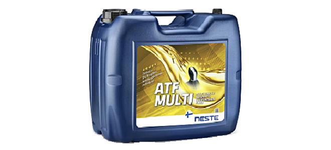 Трансмиссионное масло Neste ATF Multi
