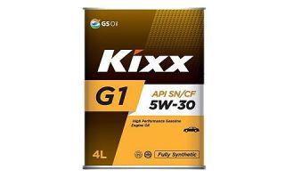 Масло Kixx G1 5W30
