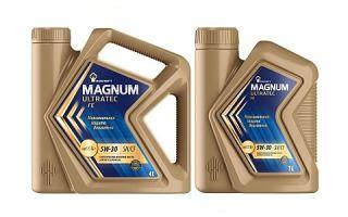 Масло Rosneft Magnum Ultratec FE 5W-30
