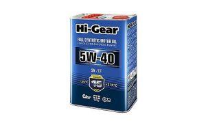 Масло Hi-Gear SAE 5W40 API SN/CF