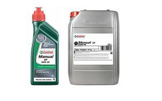 Трансмиссионное масло для МКПП Castrol Manual EP 80W90