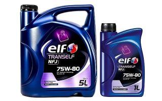 Масло ELF TRANSELF NFJ 75W80