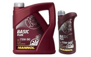Масло MANNOL Basic Plus 75W90 GL 4+