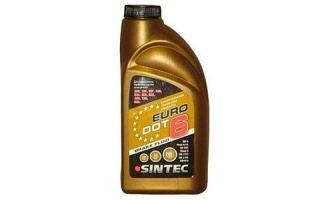 Тормозная жидкость SINTEC EURO DOT 6