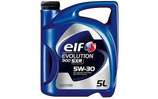 Масло ELF EVOLUTION 900 SXR 5W30