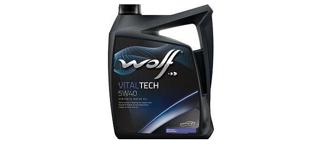 Масло WOLF VITALTECH 5W40
