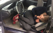 Переночевал в машине – стал пешеходом на 1.5 года. Рассказываю реальный случай из жизни