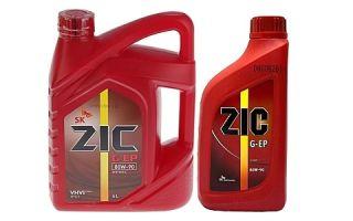 Трансмиссионное масло ZIC G-EP 80W90