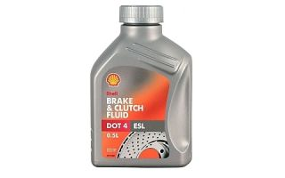 Тормозная жидкость Shell Brake and Clutch Fluid DOT 4 ELS