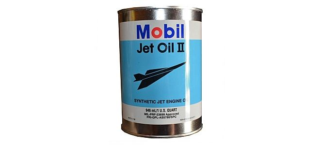 Авиационное масло для турбин Mobil Jet Oil 2