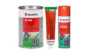 Медная смазка Wurth CU 800