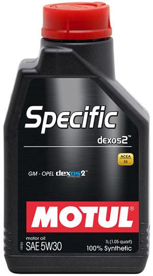 Specific dexos2 5w 30