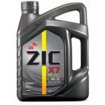 Легкий пуск зимой: масло ZIC X7 FE 0W30
