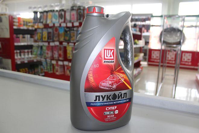 Лукойл супер 10w 40 полусинтетика