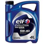 Масло ELF EVOLUTION 900 SXR 5W40
